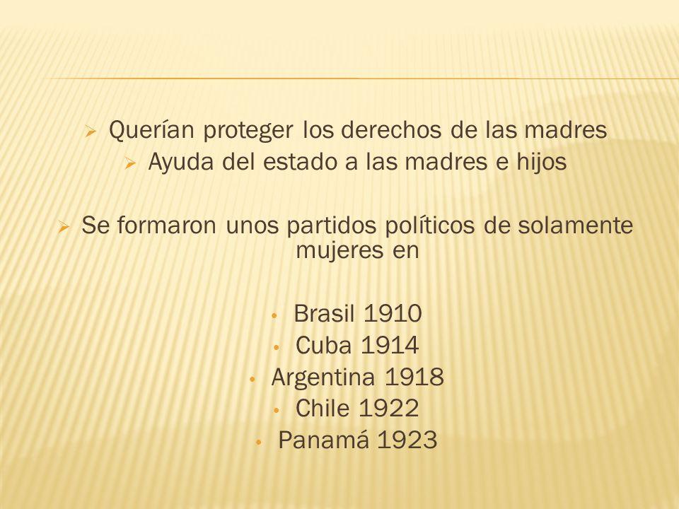 Éxito Luchaban por reformas en muchas áreas Alfabetismo de mujeres aumentó en muchos países durante el siglo 20.
