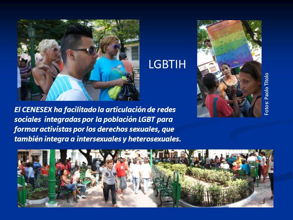 El CENESEX ha facilitado la articulación de redes sociales integradas por la población LGBT para formar activistas por los derechos sexuales, que tamb