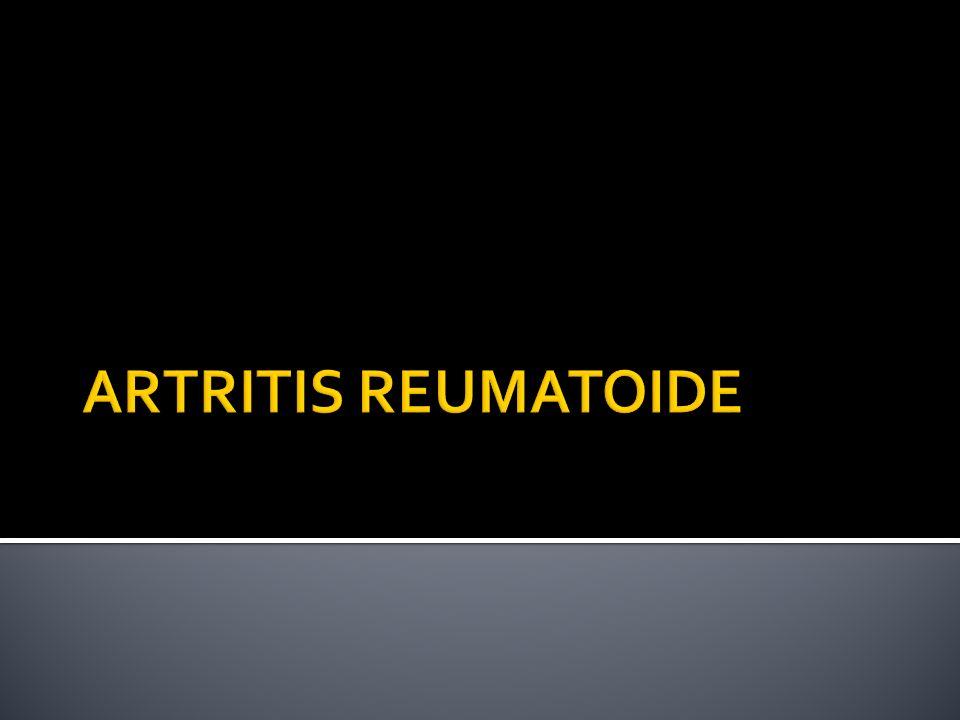 Enfermedad inflamatoria crónica, SISTÉMICA, de etiología desconocida Curso clínico fluctuante Se caracteriza por: Alteraciones estructurales progresivas Pérdida de la función Disminución de la calidad de vida Disminución de la expectativa de vida