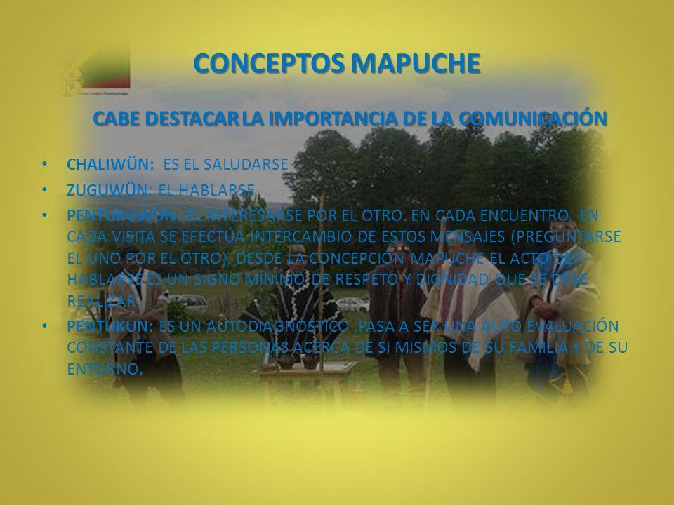 ETIOLOGÍA MAPUCHE DE LA ENFERMEDAD EL PROCESO DE SALUD-ENFERMEDAD EN LA CULTURA MAPUCHE ES EL RESULTADO DE UN EQUILIBRIO O DESEQUILIBRIO SOCIO-PSICO-BIOLÓGICO-ESPIRITUAL.