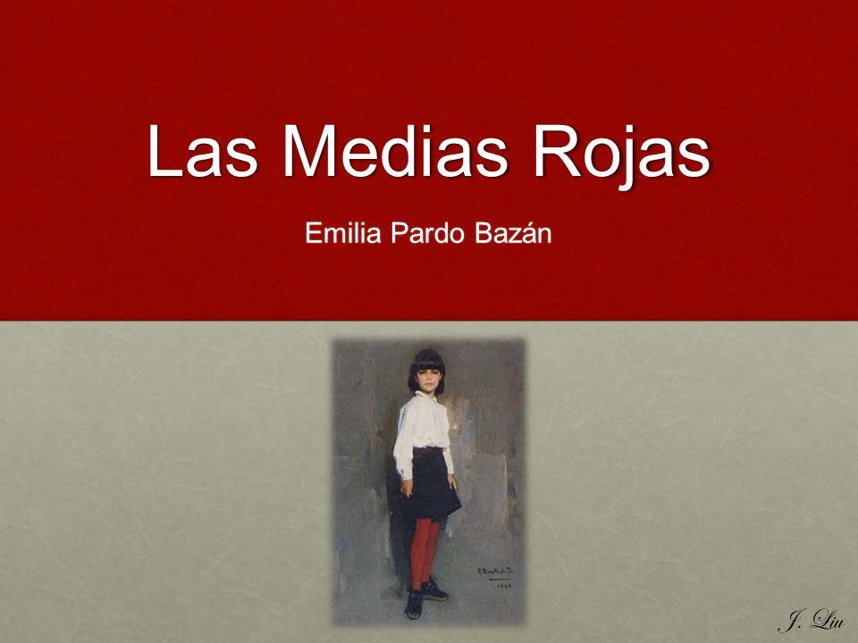 Ejemplo de Realismo Pardo Bazán retrata su historia a través de la utilización de realismo.