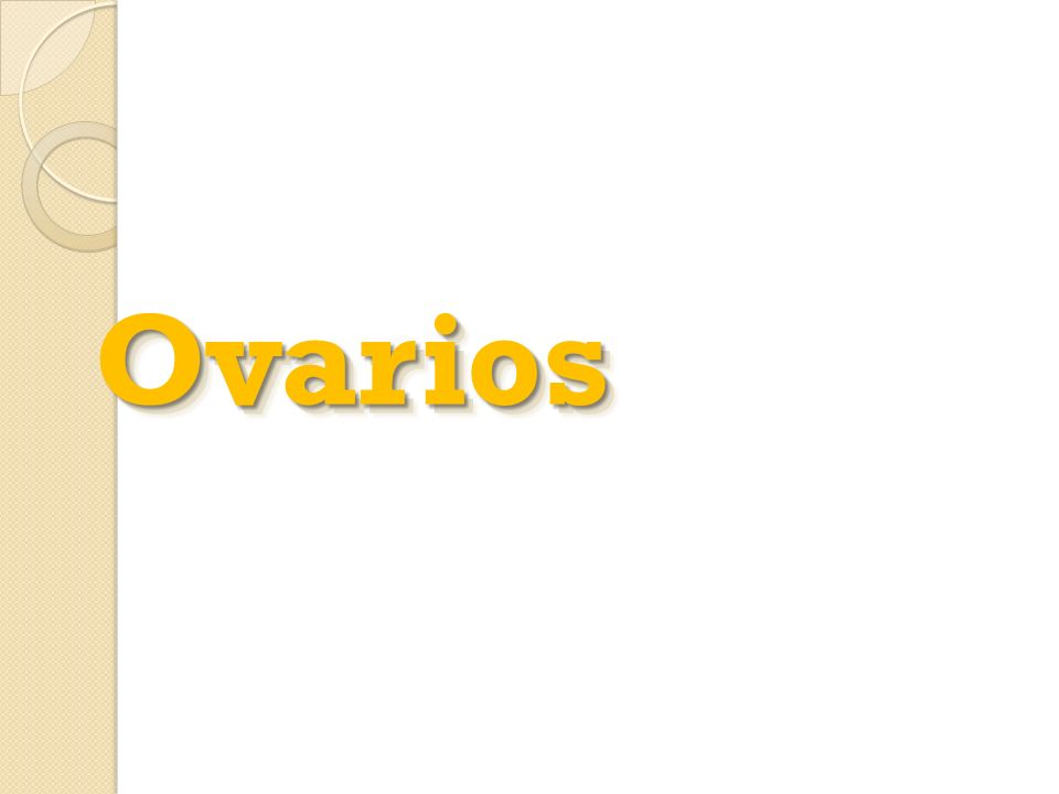 OvariosOvarios