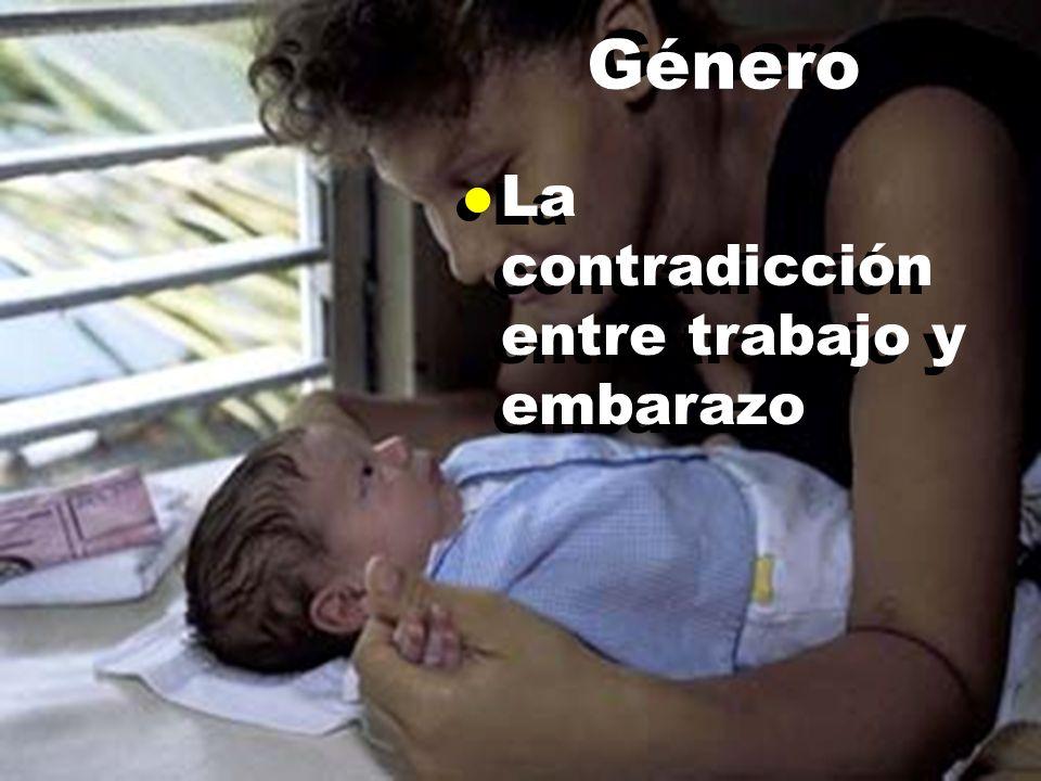 l La contradicción entre trabajo y embarazo Género