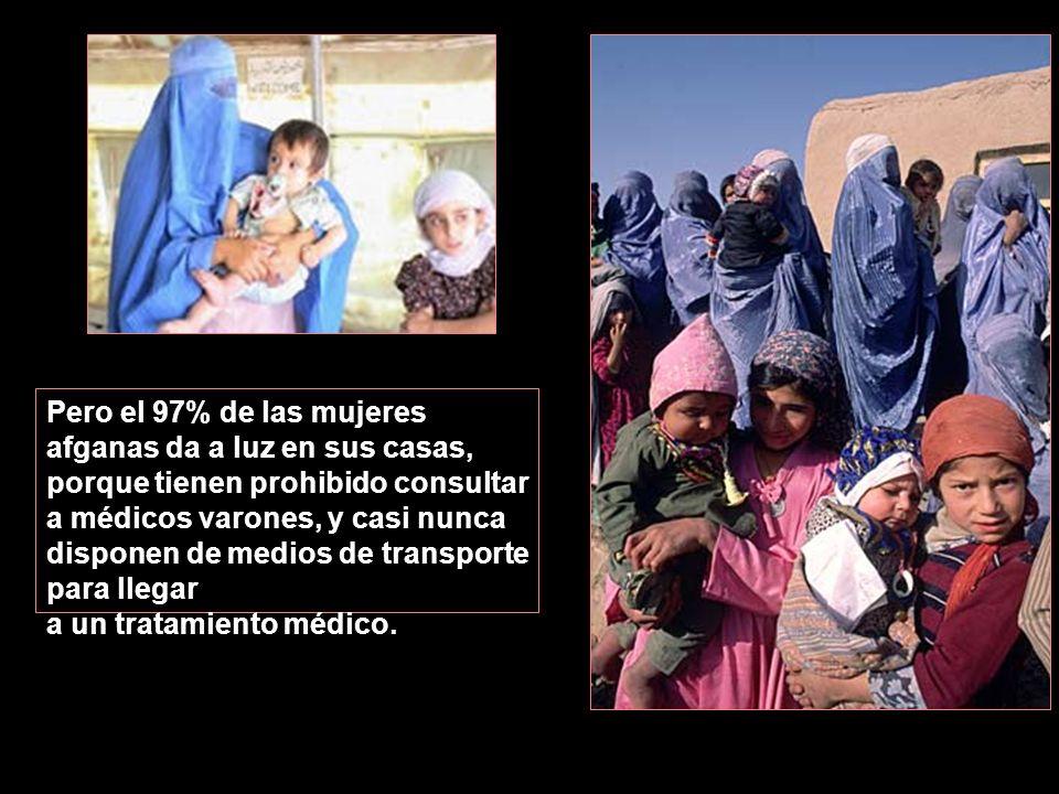 Cuando una mujer está embarazada, los afganos dicen que está enferma. En la Maternidad Malalai, que es la mayor del país, las mujeres son dadas de alt