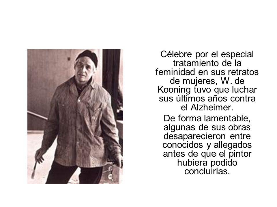 Célebre por el especial tratamiento de la feminidad en sus retratos de mujeres, W.