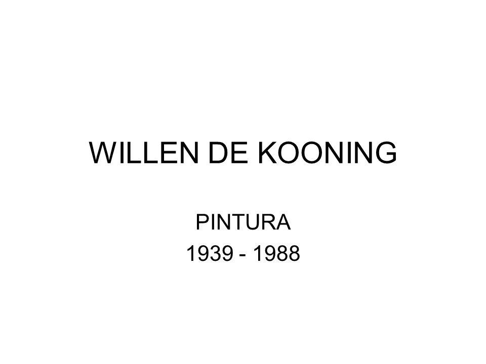 Célebre por el especial tratamiento de la feminidad en sus retratos de mujeres, W. de Kooning tuvo que luchar sus últimos años contra el Alzheimer. De