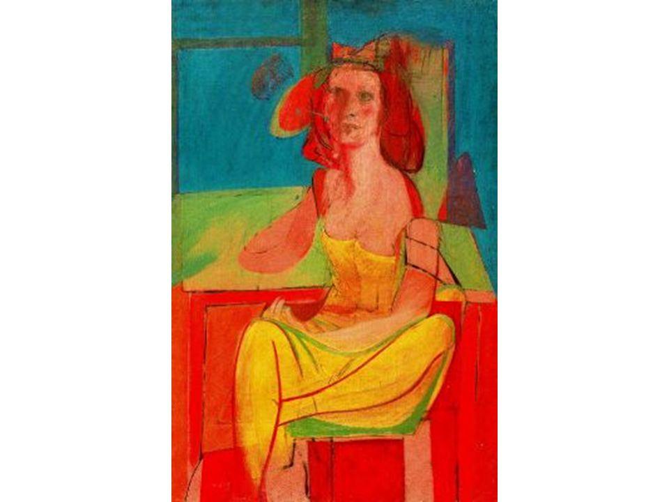 Figura sentada (hombre clásico) - 1939.El vidriero - 1940.
