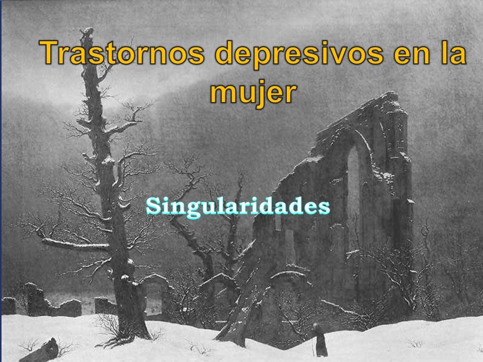 Mayores tasas globales para Trastorno Depresivo Mayor y Distimia, no así para Trastorno Bipolar.