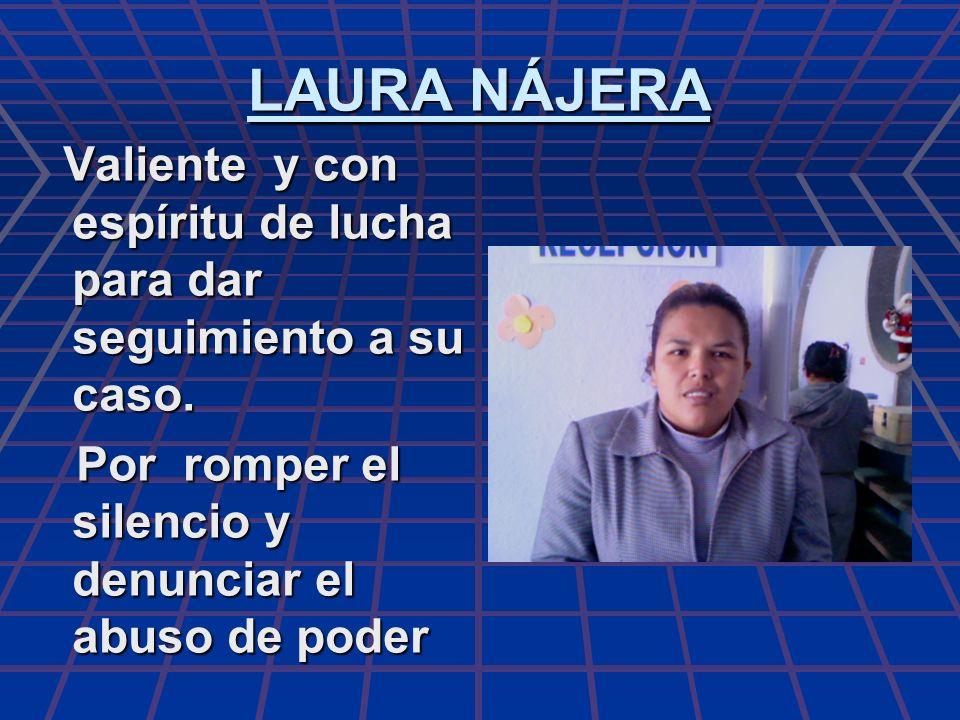MARIA ELENA PERALTA Se integra al esfuerzo de Sobrevivientes a partir de la visita al país de la relatora de OEA Dra.