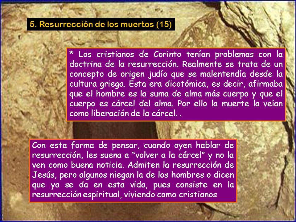 * Conclusión: Pablo también tiene Espíritu. Todo con decoro y orden (14,37-39) Si alguien se cree profeta o inspirado por el Espíritu, reconozca en lo