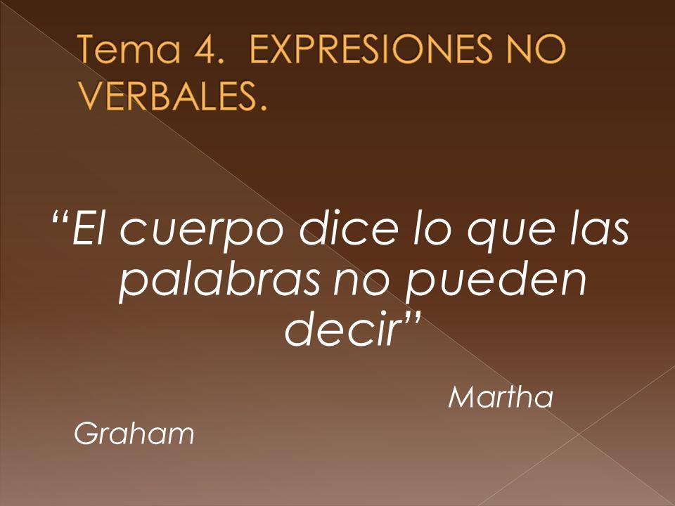El cuerpo dice lo que las palabras no pueden decir Martha Graham