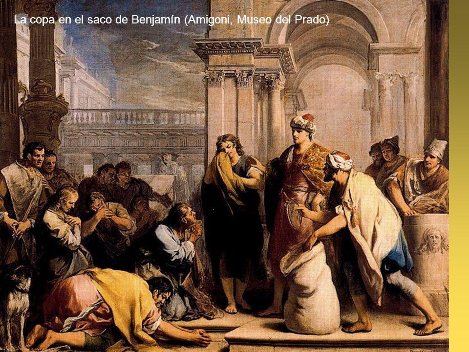 La copa en el saco de Benjamín (Amigoni, Museo del Prado)