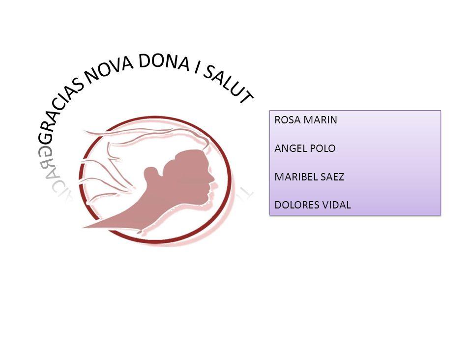 ROSA MARIN ANGEL POLO MARIBEL SAEZ DOLORES VIDAL ROSA MARIN ANGEL POLO MARIBEL SAEZ DOLORES VIDAL
