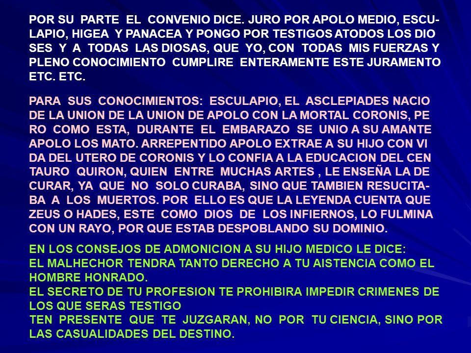 HABRAS DE OCULTAR SECRETOS QUE POSEES, CONSENTIR EN PA- RECER BURLADO, IGNORANTE Y COMPLICE NO CUENTES CON AGREDECIMIENTO: CUANDO EL ENFERMO SANA LA CURACION ES DEBIDA A SU ROBUZTEZ; SI MUERE, TU ERES EL QUE LO HA MATADO.