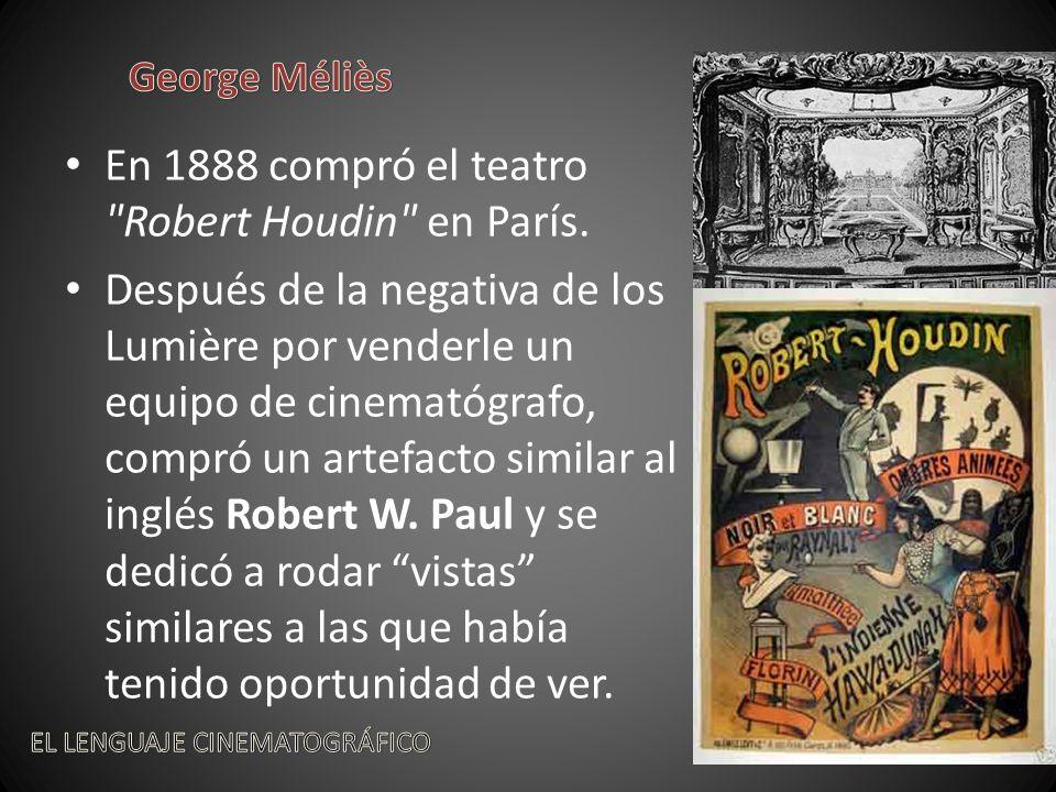 En 1888 compró el teatro Robert Houdin en París.
