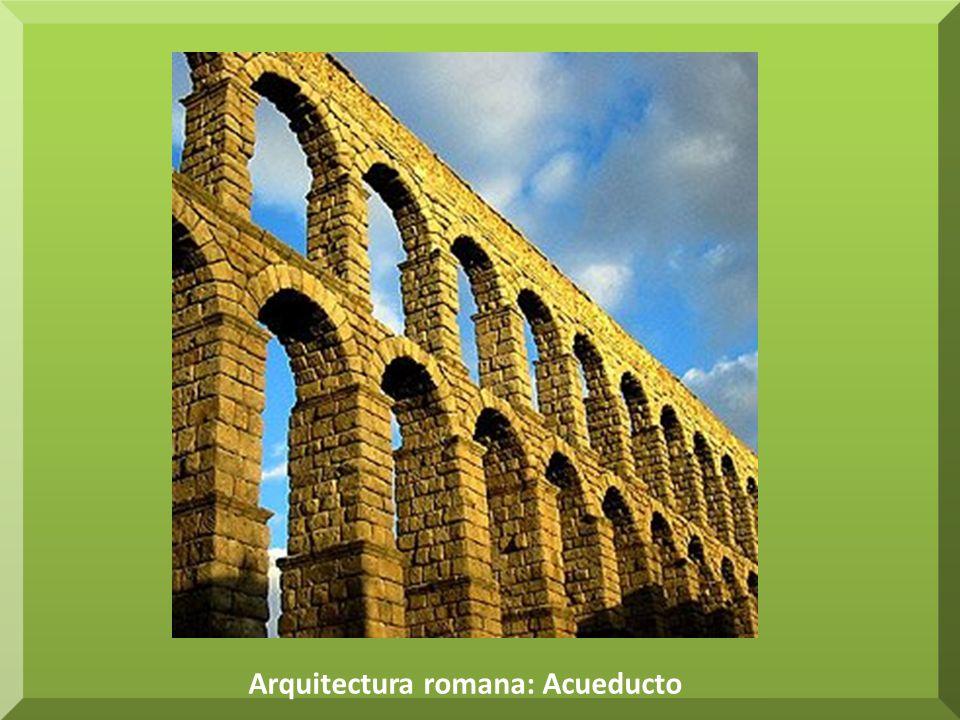 Arquitectura romana: Acueducto