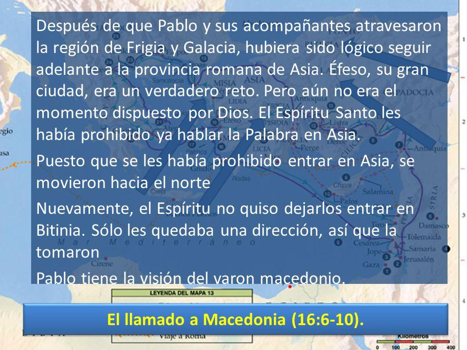 Una puerta abierta en Filipos (16:11-15).