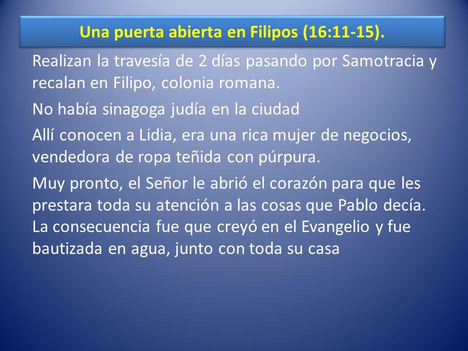 La expulsión de un demonio (16:16-18).