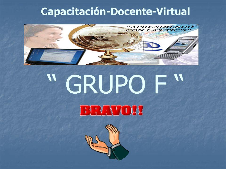 GRUPO F Capacitación-Docente-Virtual