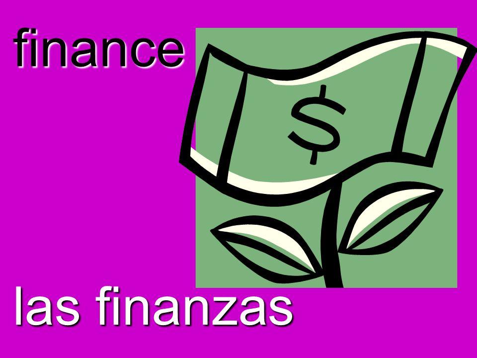 finance las finanzas