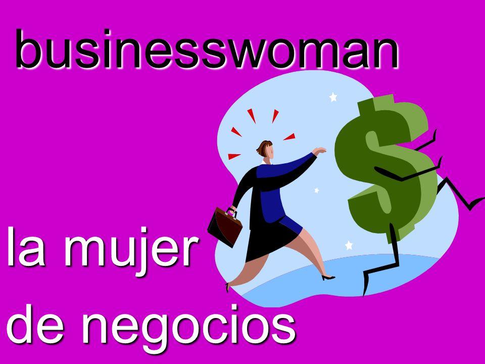 businesswoman la mujer de negocios