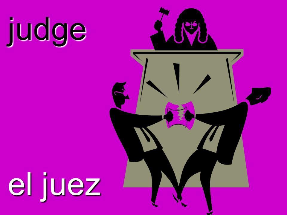 judge el juez