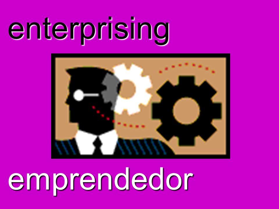 enterprising emprendedor