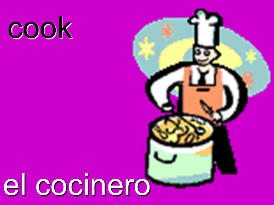 cook el cocinero