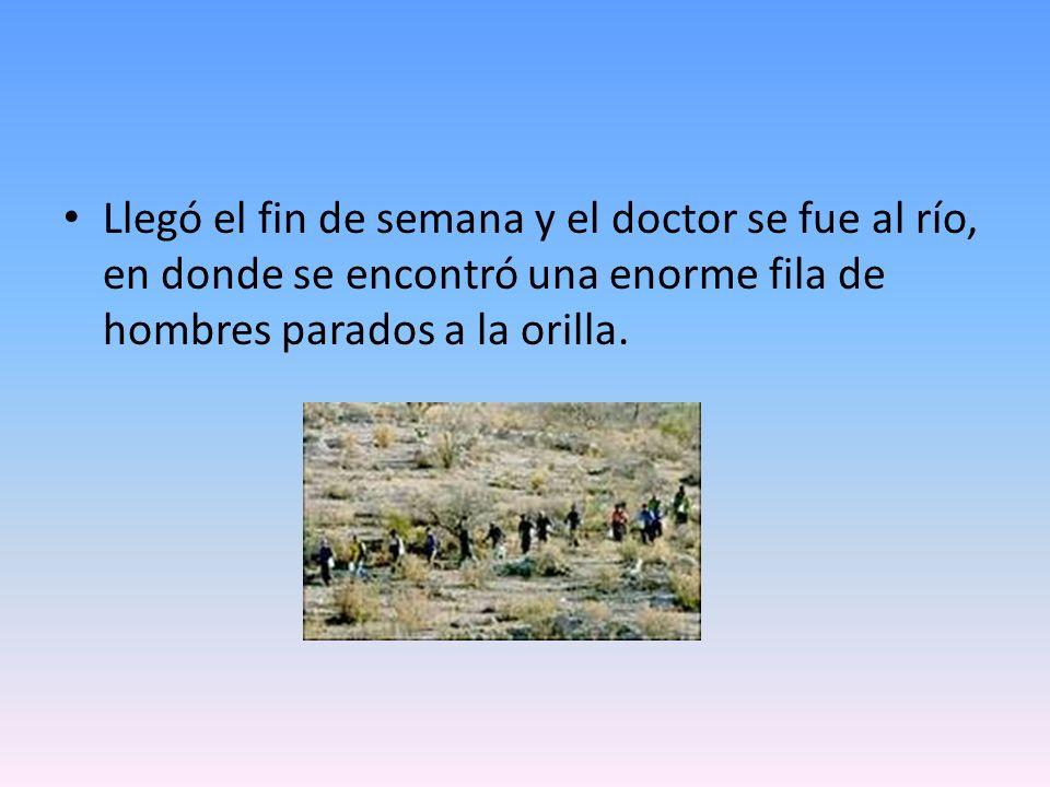 Al ser tan conocido en el pueblo, los lugareños le ceden el puesto al doctor, hasta que llega a ocupar el primer lugar.