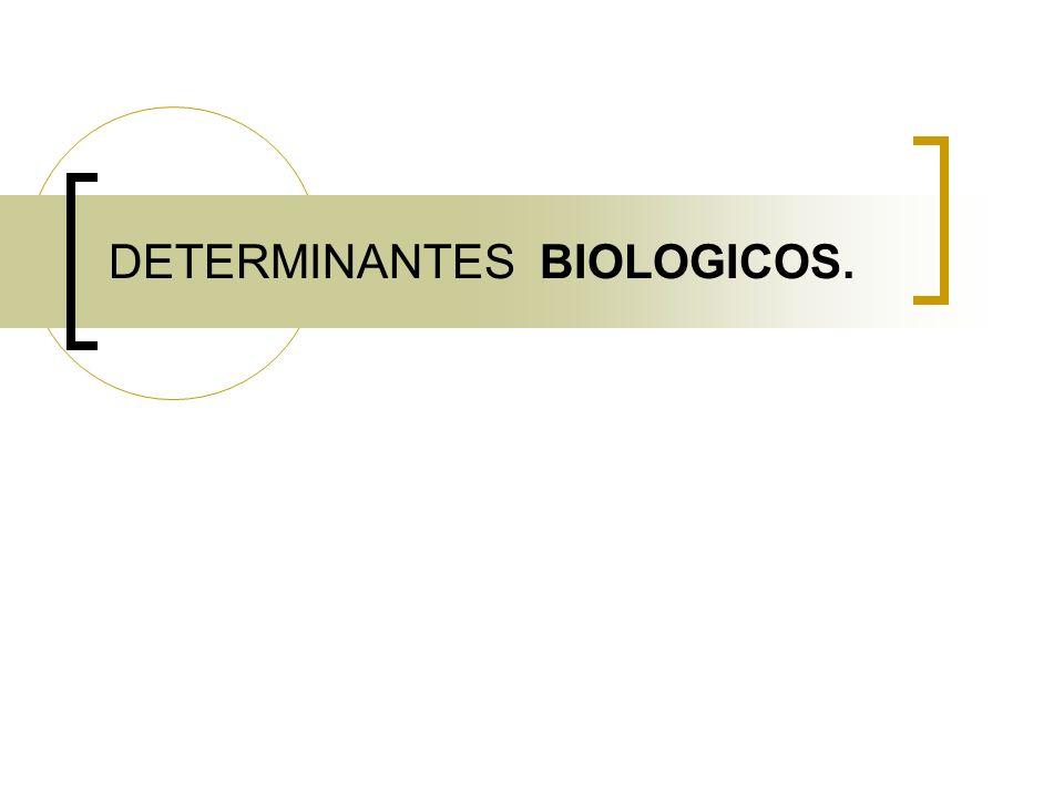 DETERMINANTES BIOLOGICOS.