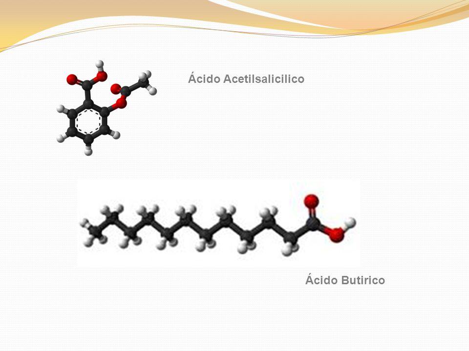 Ácido Acetilsalicilico Ácido Butirico