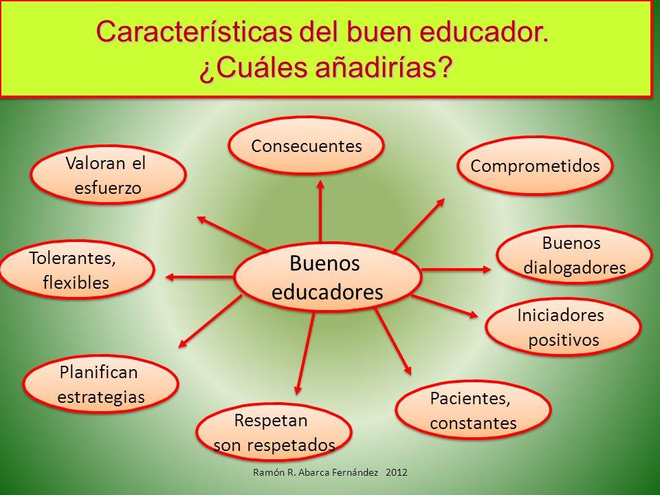 Planifican estrategias Planifican estrategias Buenos educadores Buenos educadores Iniciadores positivos Iniciadores positivos Buenos dialogadores Buen