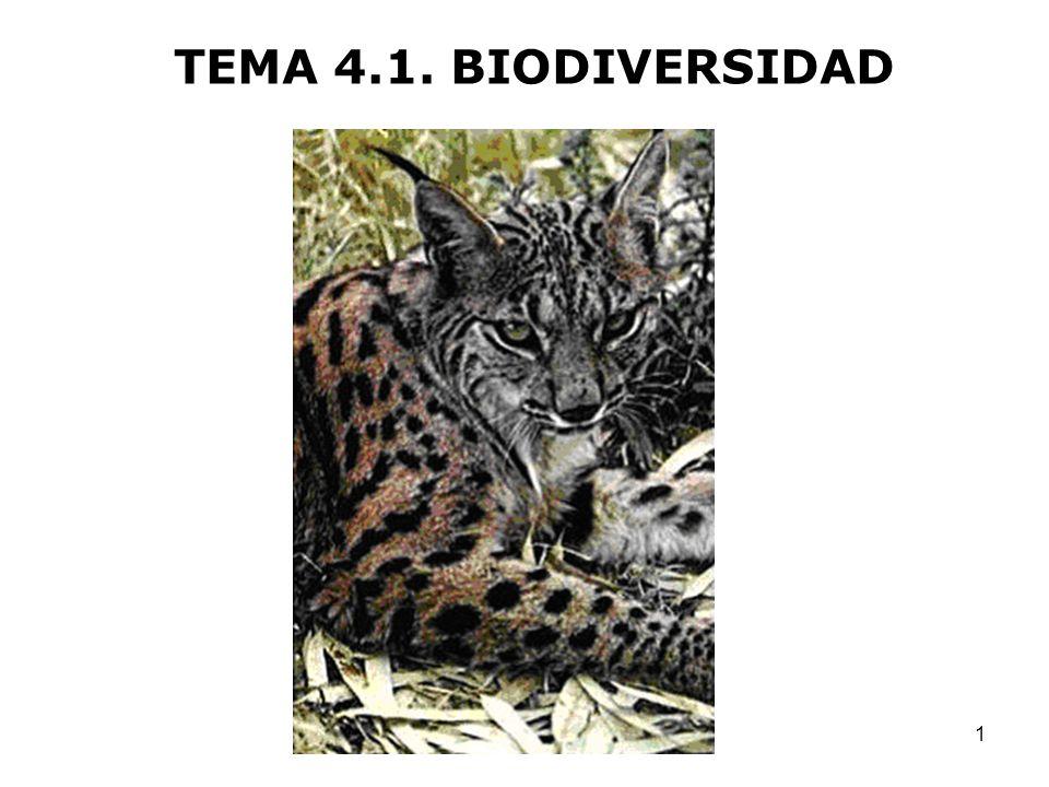 1 TEMA 4.1. BIODIVERSIDAD