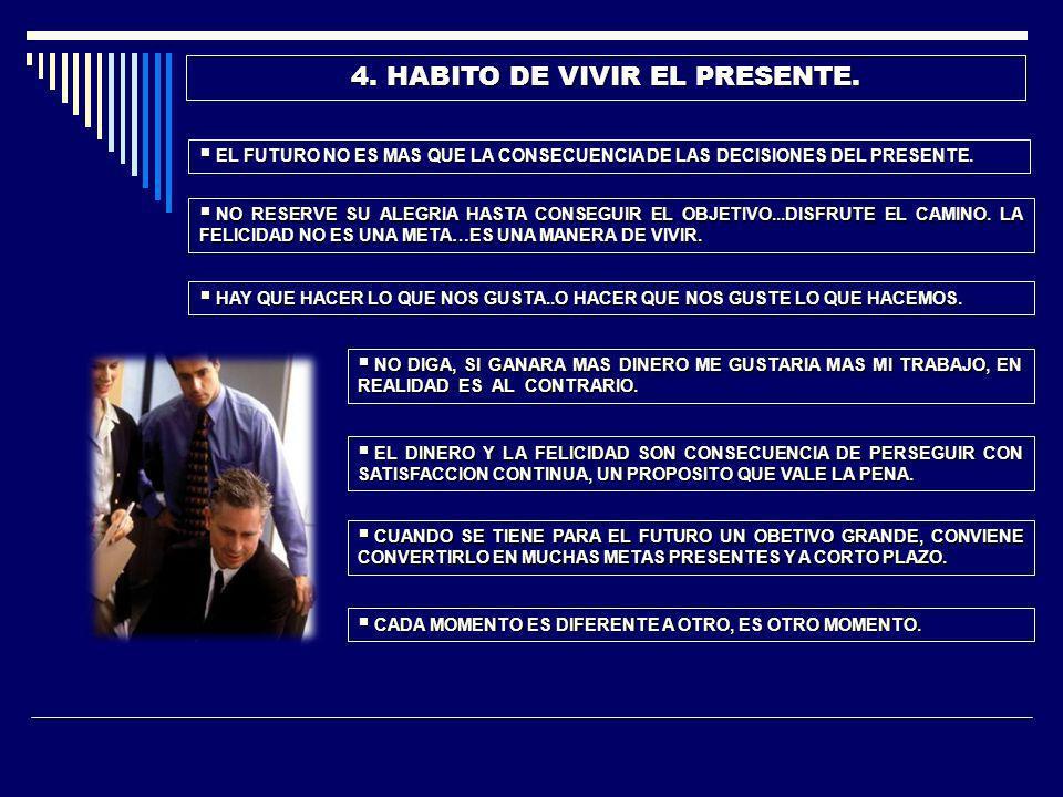 5.HABITO DE LA HONESTIDAD.