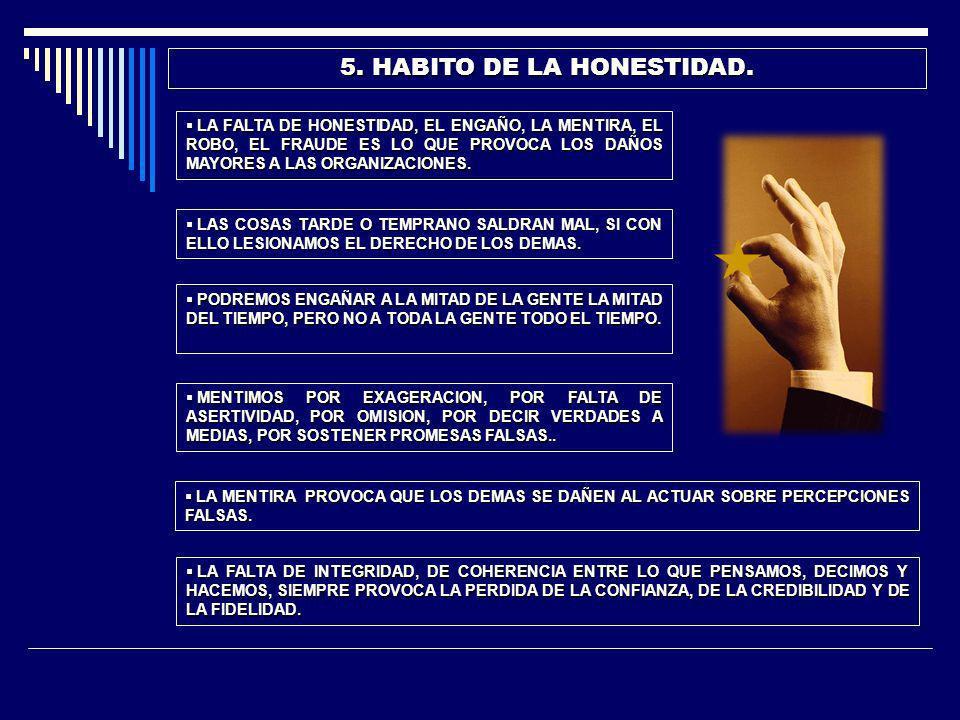 6.HABITO DE LAS BUENAS RELACIONES HUMANAS.