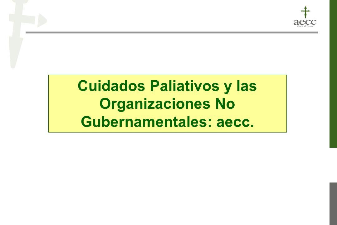 Cuidados Paliativos y las Organizaciones No Gubernamentales: aecc.