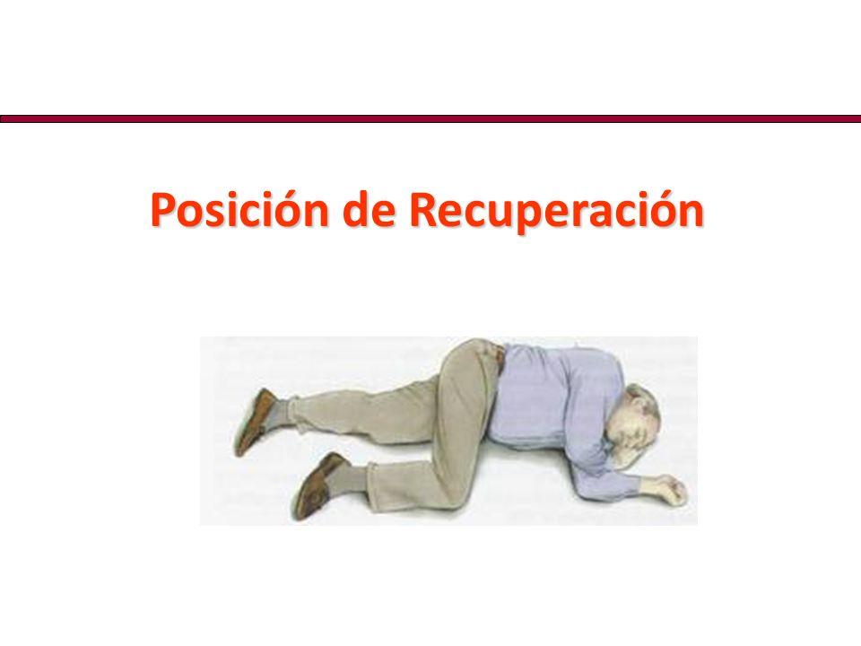 Posición de Recuperación