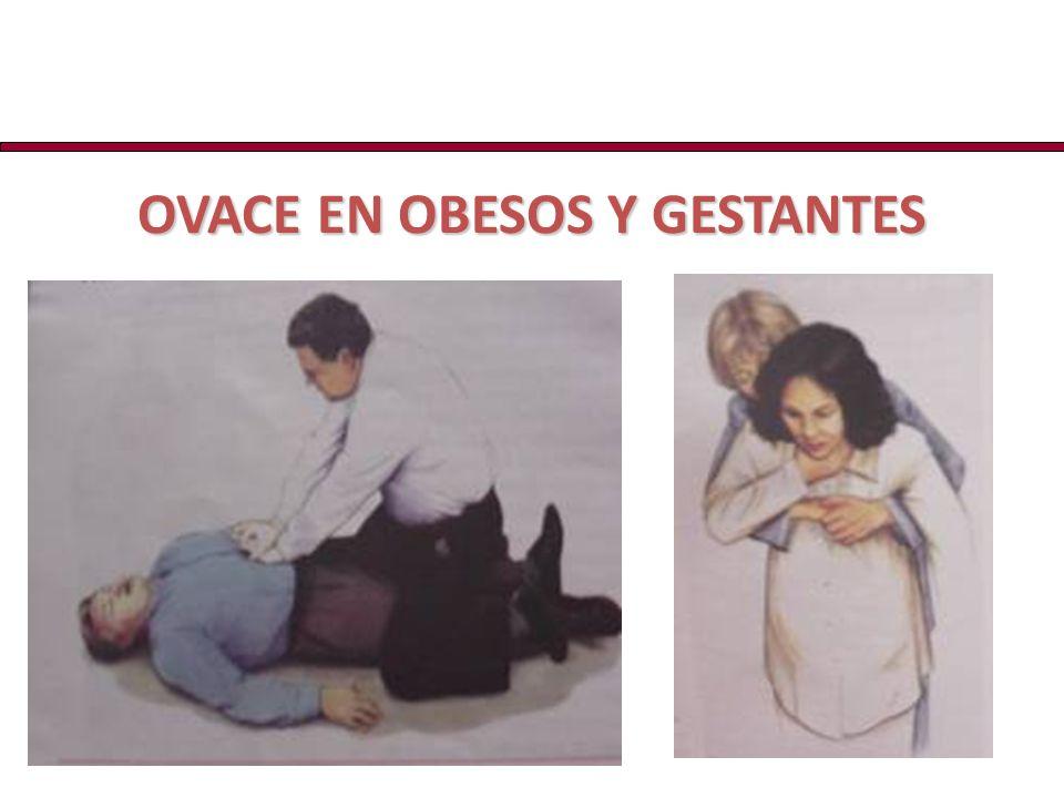 OVACE EN OBESOS Y GESTANTES