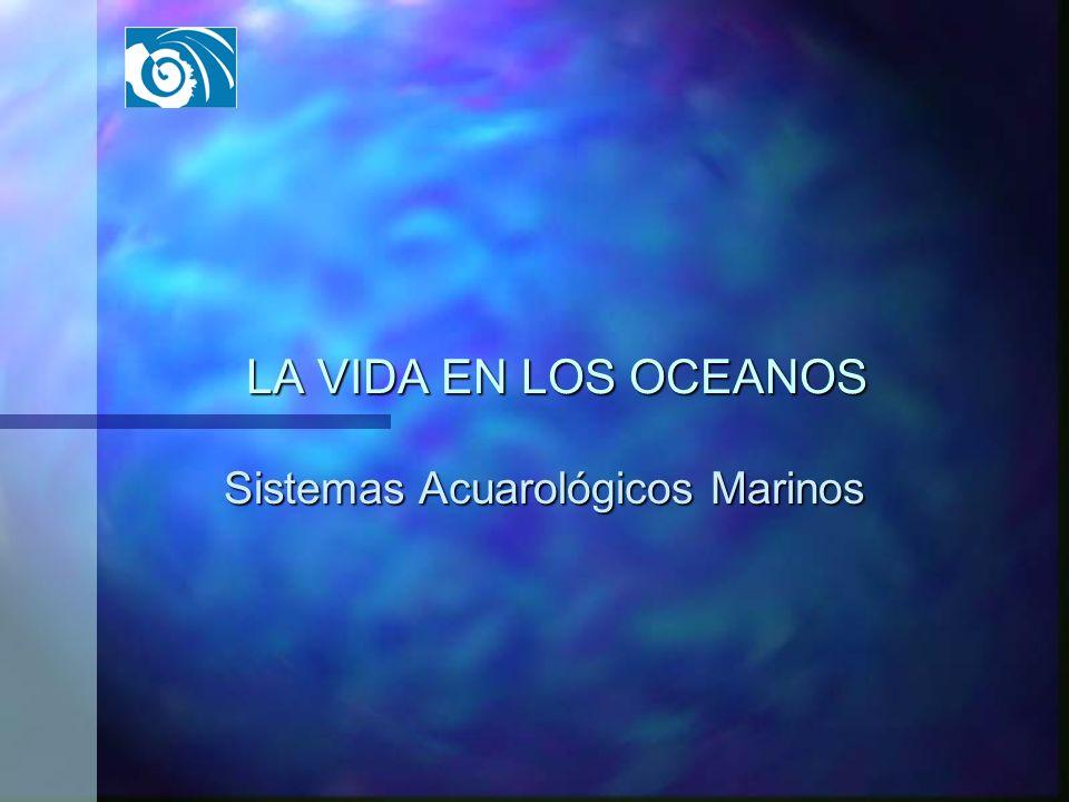 LA VIDA EN LOS OCEANOS Sistemas Acuarológicos Marinos