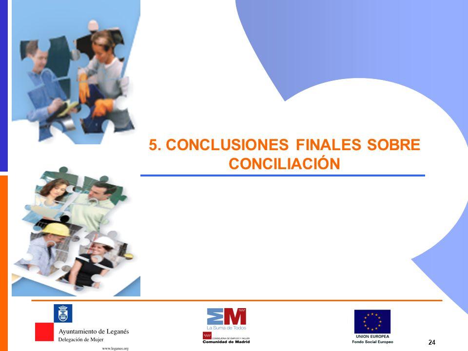 24 5. CONCLUSIONES FINALES SOBRE CONCILIACIÓN