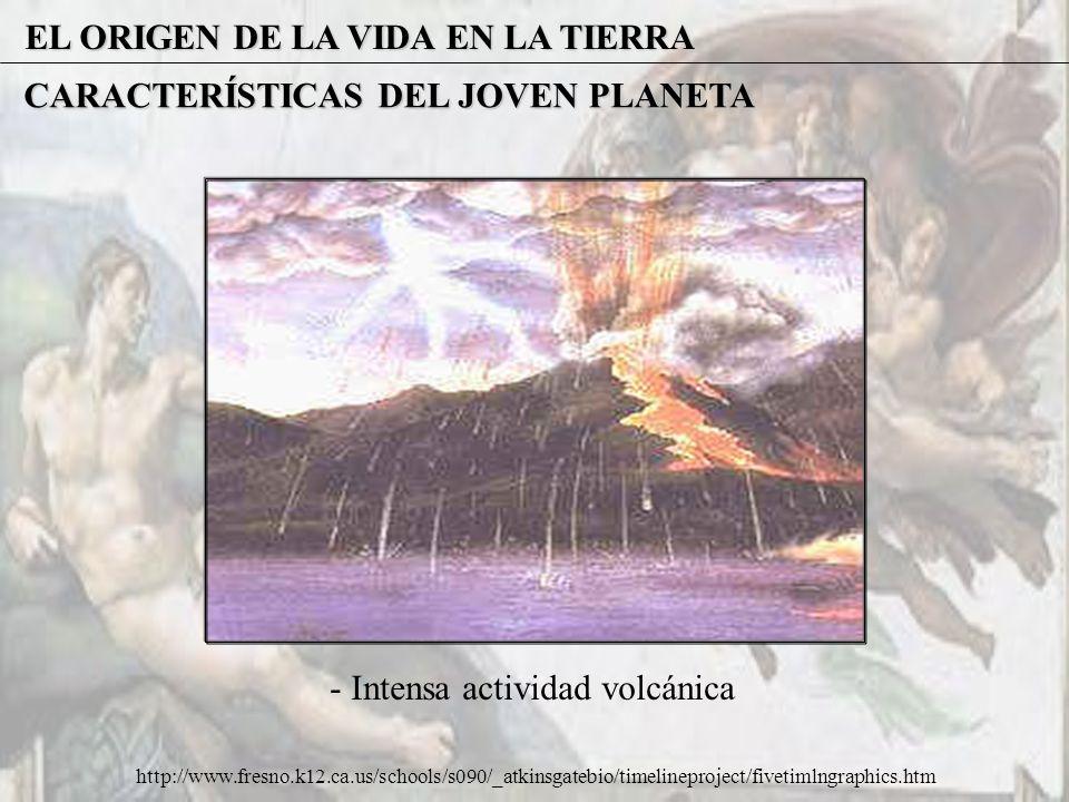 EL ORIGEN DE LA VIDA EN LA TIERRA TEORÍA OPARIN - HALDANE