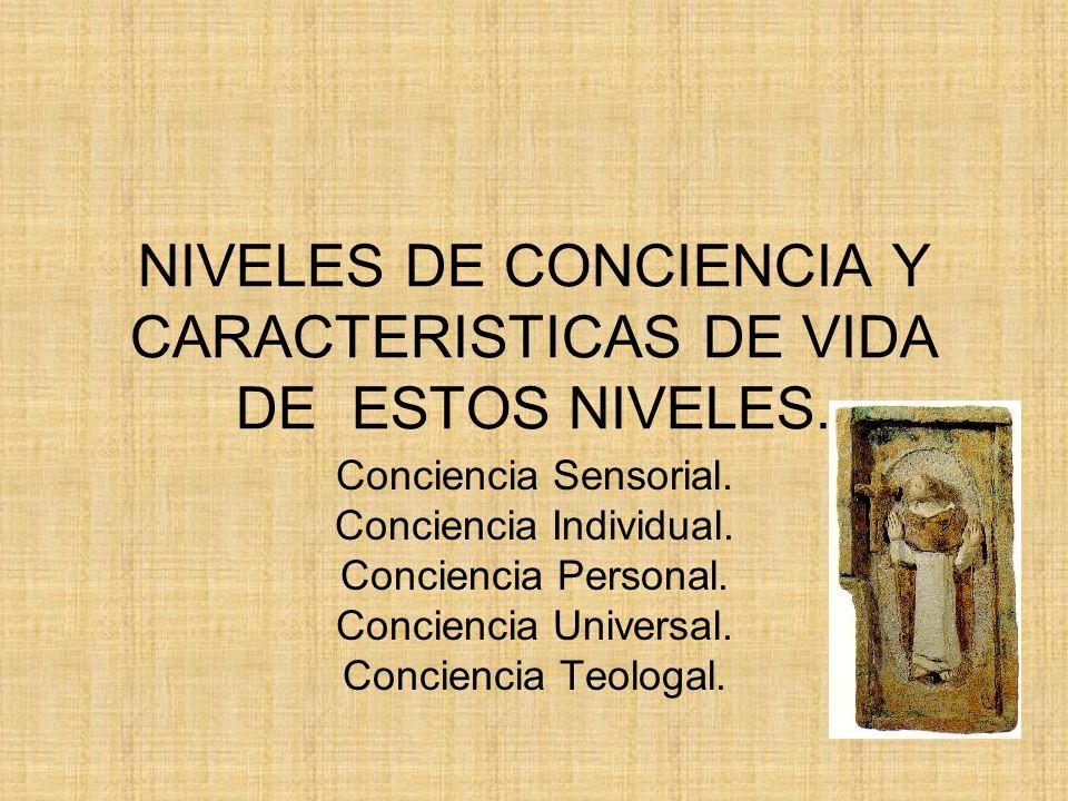 CARACTERÍSTICAS DE VIDA.Surge la conciencia del yo, que se configura como la base de la madurez.