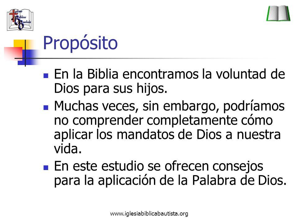 www.iglesiabiblicabautista.org Pasos 7.