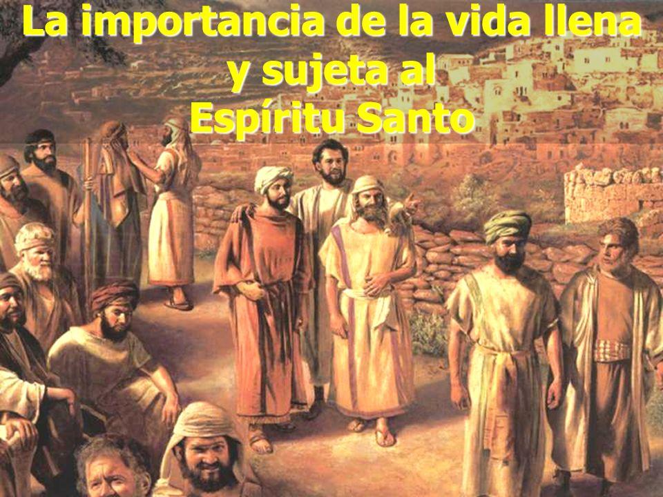 (787) 890-0118 www.iglesiabiblicabautista.org Iglesia Bíblica Bautista de Aguadilla La importancia de la vida llena y sujeta al Espíritu Santo
