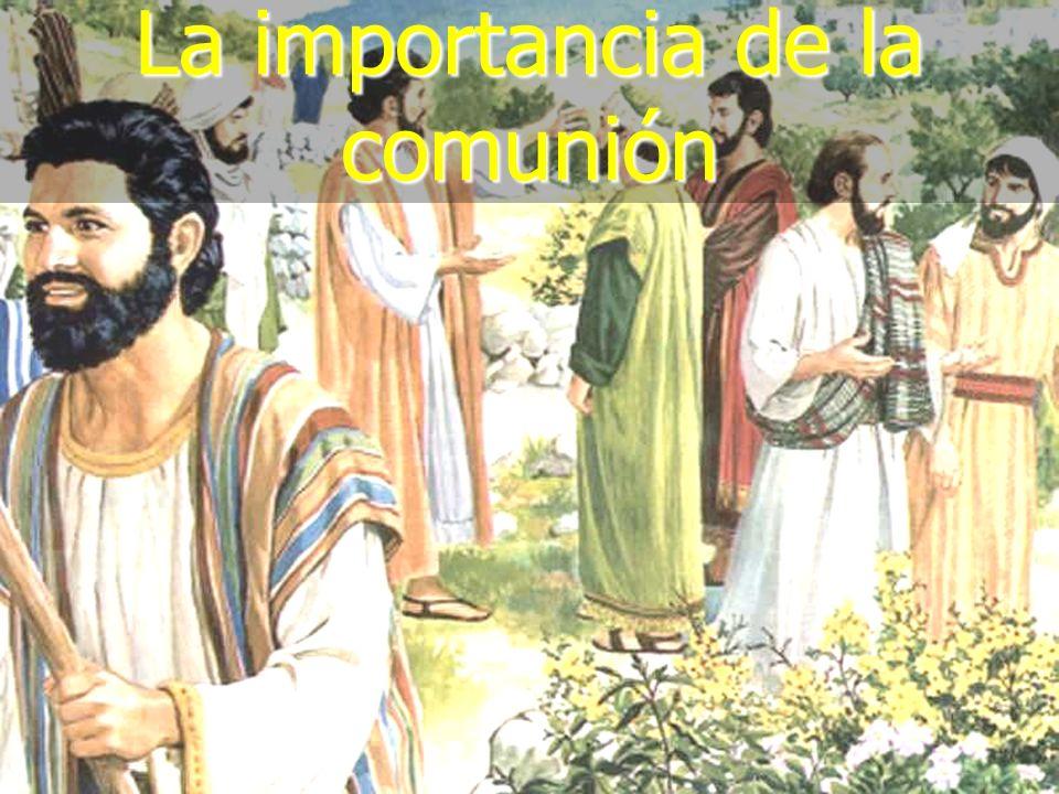 (787) 890-0118 www.iglesiabiblicabautista.org Iglesia Bíblica Bautista de Aguadilla La importancia de la comunión