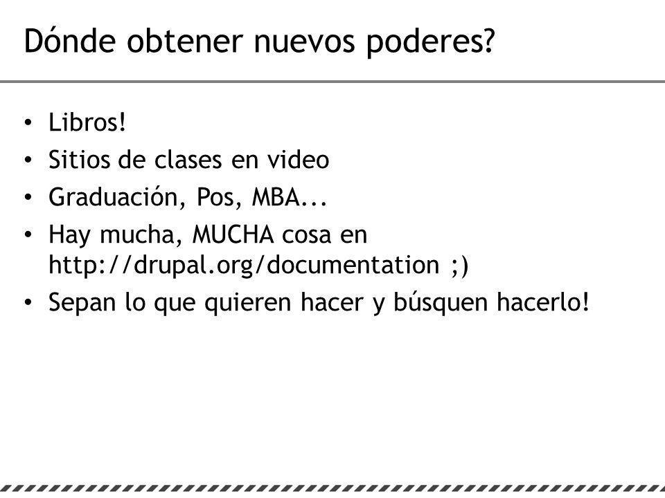 Libros. Sitios de clases en video Graduación, Pos, MBA...