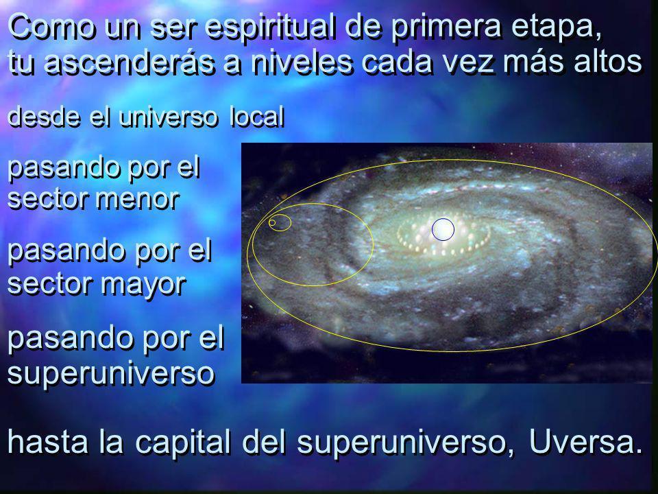 Hasta aquí, todo tu viaje ha sido en el universo local.
