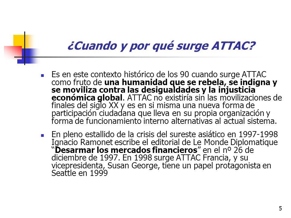 5 ¿Cuando y por qué surge ATTAC.