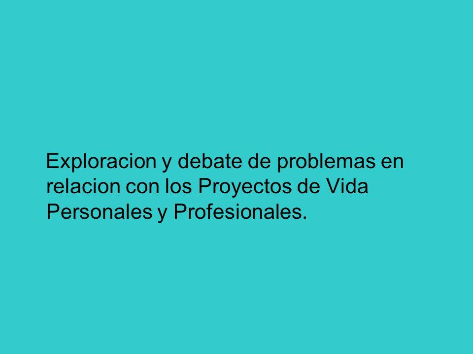 Acción mediadora en la reconstrucción integral de proyectos de vida Integración holística e interdisciplinaria de temas y situaciones, en torno a las areas de conocimiento y a la experiencia vital cotidiana.