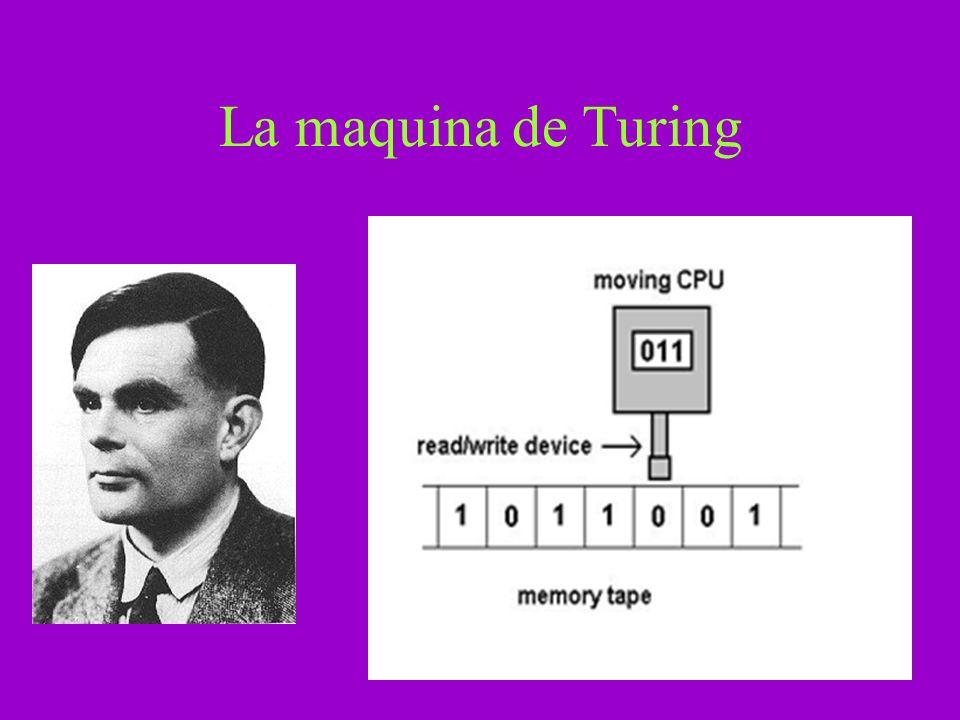 Postulados de A-life Postulado 1: Una maquina universal de Turing puede simular cualquier proceso algorítmico.